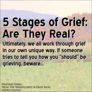 5 Stages of Grief: Are They Real?
